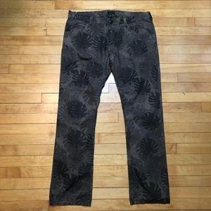 Armani Jeans Hidden Jungle Tropical Camo Pants